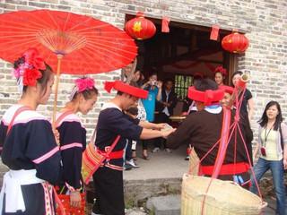 [国庆]<清远英西峰林-南岗千年瑶寨2日游>踏青瑶族篝火晚会