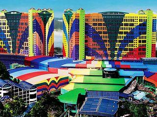 <新加坡-马来西亚4晚5日游>国泰直飞 升级1晚国五酒店 黄金海岸波德申 SEA海洋馆 云顶高原