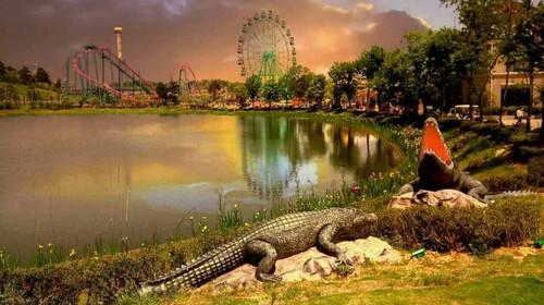 珍珠泉,赠2张银杏湖乐园成人票 和爸爸妈妈一起走进童话世界 出发