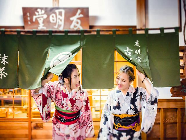 【超高人气】京都 桜京/樱京和服体验店(邻清水寺 祇园 提供旅拍)