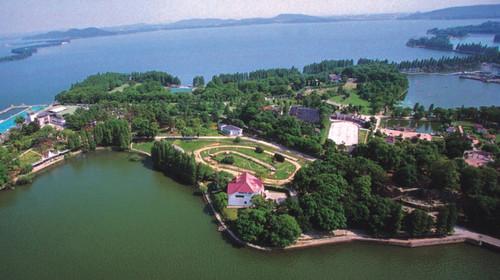 武汉东湖学院手绘地图