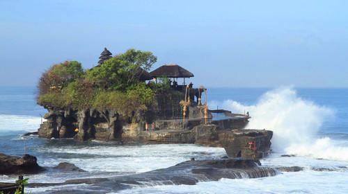 巴厘岛-蓝梦岛5晚7日游>乌鲁瓦图情人崖海景下午茶海