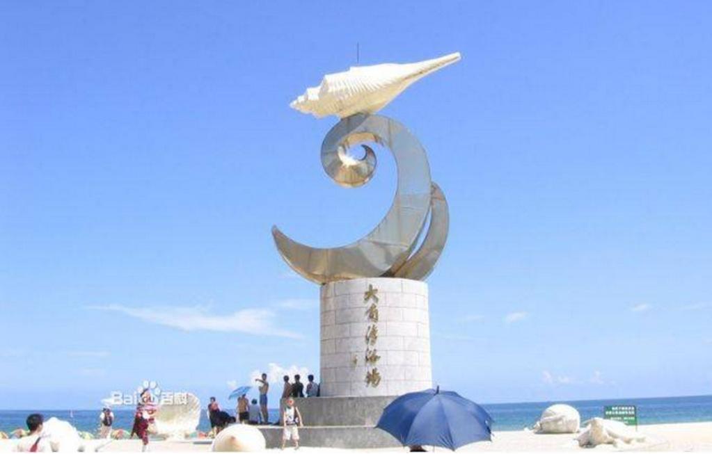 大型木质帆船雕塑