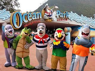 <香港澳门2晚3日游>香港海洋公园,港澳观光