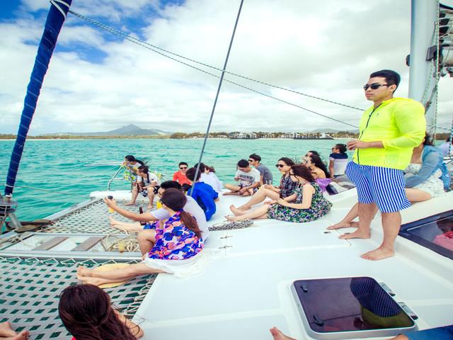 <毛里求斯巡岛探索超值4日游>含中文导游赠电话卡