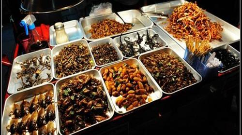 湄南河夜市美食