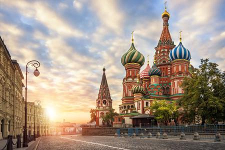 <俄罗斯莫斯科+圣彼得堡9日游>免签圣地,?#23458;?#26080;自费,东航可联运,双城连游,冬宫?#22675;?#33457;园入内,圣三一教堂,彼得保罗要塞
