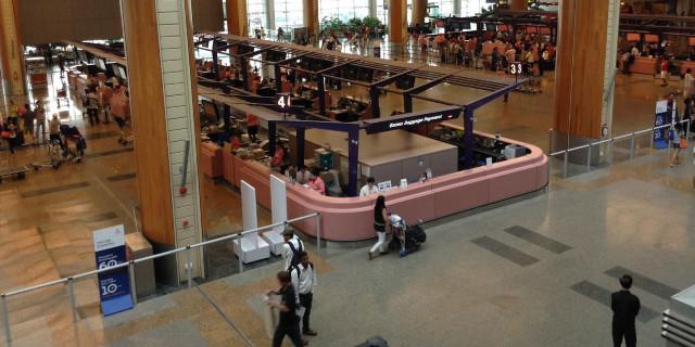 <新加坡樟宜机场T2\T3航站楼5小时高端休息套餐>(美食套餐+洗浴+上网+电话+杂志娱乐)