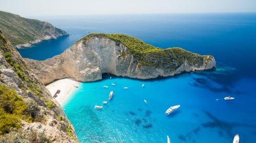 [端午] 希腊-意大利13日游>太阳的后裔取景地扎金索斯,圣托里尼岛