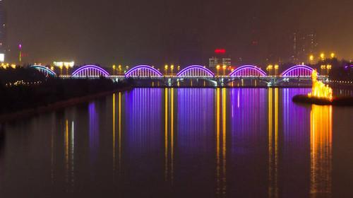 美丽的太原夜景图片