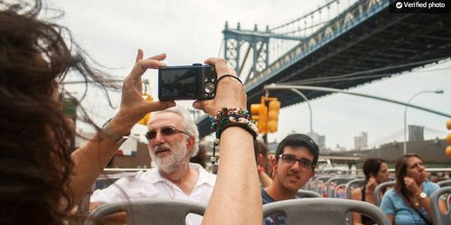 <纽约随上随下观光巴士及景点套票>