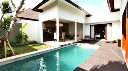 巴厘岛独幢泳池别墅(v泳池之一)小院别墅最新图片