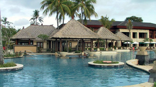 巴厘岛4晚5日游>海边酒店 泳池别墅 梦之船出海 蓝点