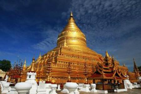 <仰光-內比都-曼德勒-浦甘8日游>上海出發,發現緬甸之美,黃金王國,蝴蝶王朝,喬達基臥佛寺,華麗古式馬車,百年軸木大橋