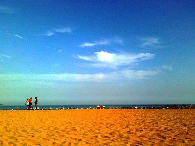 青岛极地海洋世界-黄岛金沙滩-日照赶海3日游>合肥出发,升级1晚5星