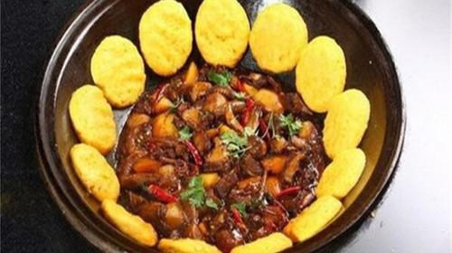 哈尔滨美食.铁锅炖