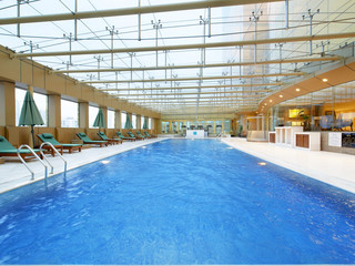 喜来登酒店室内游泳池