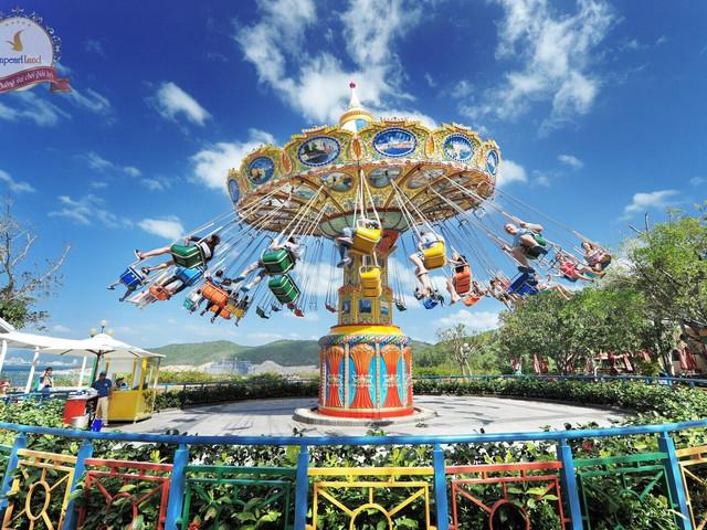 【包含缆车】<芽庄珍珠岛游乐园门票>含海底公园+4D电影院+游乐场+美食街