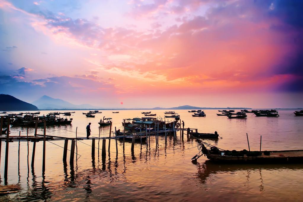大角湾风景名胜区位于广东阳江市闸坡