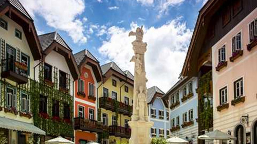 奥地利风情小镇