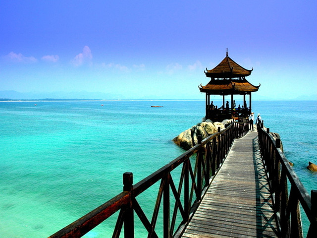 【浪漫海岛】<三亚蜈支洲岛1日游>门票船票纯玩团无购物,可升级亚龙湾上门接送