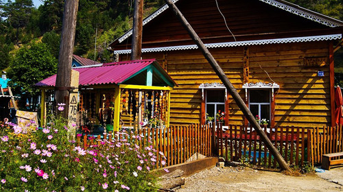 俄式木屋别墅图片