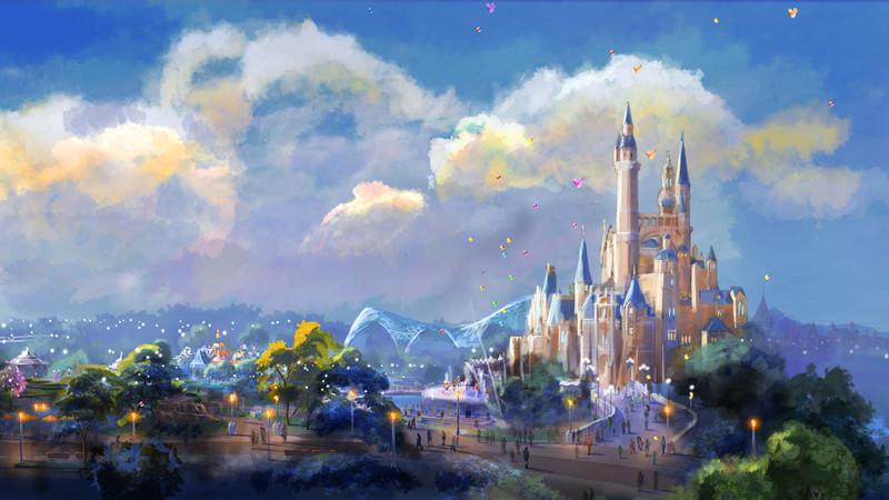 上海迪士尼乐园中国元素