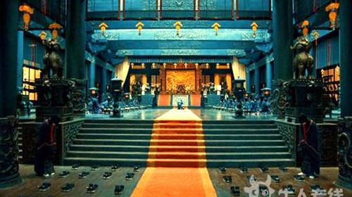 橙光游戏素材 宫殿