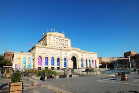 <格鲁吉亚-亚美尼亚-阿塞拜疆高加索3国13日游>全程4星酒店,境外不收服务费,尝高加索3国美食