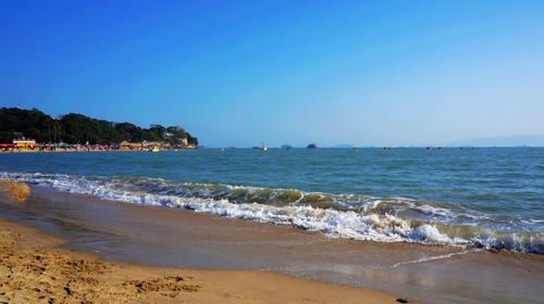 港仔后海滨浴场沙滩