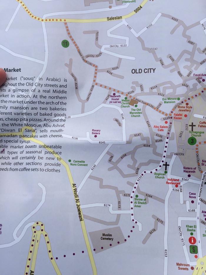 泉州古城徒步手绘地图