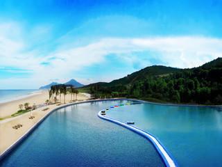 <阳江海陵岛2日游>畅游十里银滩,参观梅家大院,欢乐黄金海岸,食古井烧鹅