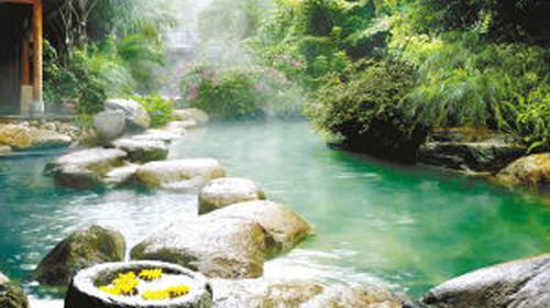 蒲河清河半岛温泉