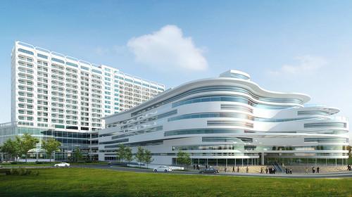 """三亚哈曼度假酒店坐落于大东海旅游区的核心地带,直面绵延3公里""""水暖图片"""