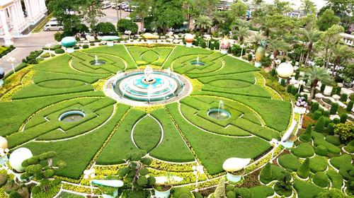 手工制作公主花园