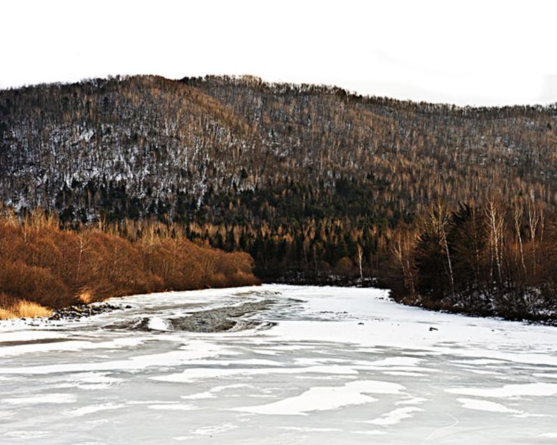 """起了毛主席的《沁园春雪》中描写的""""北国风光,千里冰封,万里雪飘"""