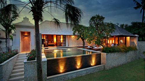 巴厘岛皇家桑川别墅4晚6日自助游>海边独栋别墅,私人