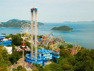 <香港1日游>海洋公园5小时,0购物,0自费,海龙明珠号夜游璀璨维港,餐标提升至80港币,人气领队导游