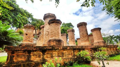 婆那加占婆塔的#旅图换旅费#