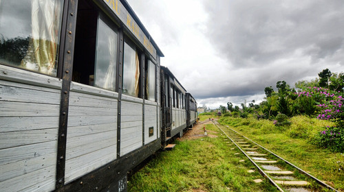 大叻旧火车站的#旅图换旅费#