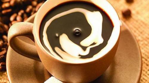 咖啡图绘画步骤