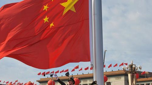 天安门广场升旗仪式