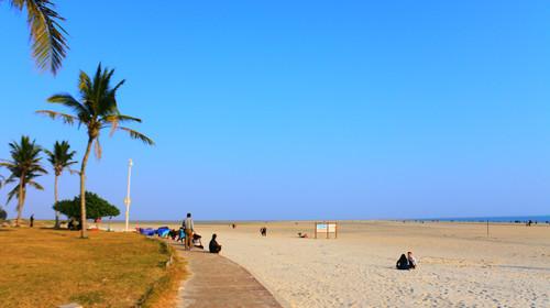 北海银滩的#旅图换旅费#