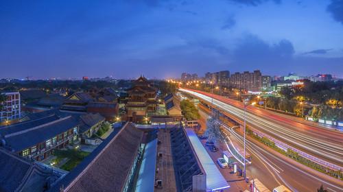 宿北京海航大厦万豪酒店自驾2日游