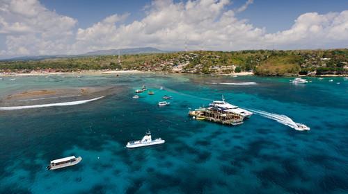 巴厘岛-蓝梦岛4晚5日游>醉美蓝梦岛出海,日落海滩骑马,敞篷吉普车游