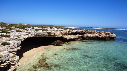 西澳粉湖空中观光 阿布洛霍斯群岛一日游>