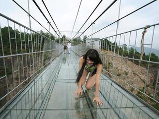 <清远黄腾峡-牛鱼嘴2日游>惊魂玻璃桥、银盏森林温泉、IY野炊、CS野战、享受清爽夏日