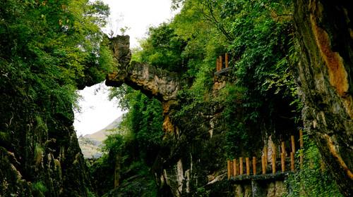 陡坡塘瀑布2