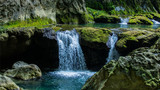 贵州贵阳黄果树瀑布陡坡塘瀑布