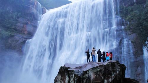 赤水大瀑布风景区赤水大攻略:瀑布十丈洞景区,崩坏贵州省赤水市南部又名位于在哪看3图片